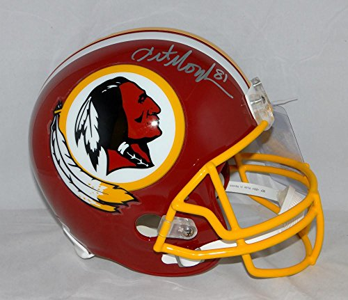 Art Monk Autographed Washington Redskins Full Size Helmet- PSA/DNA Authenticated Art Monk Washington Redskins