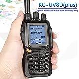 Il s'applique à Talkie Walkie Wouxun KG-UV8D Plus Dual Band VHF et UHF à deux voies radio Double Affichage Duplex (KG-UV8D Mise À Niveau Version)