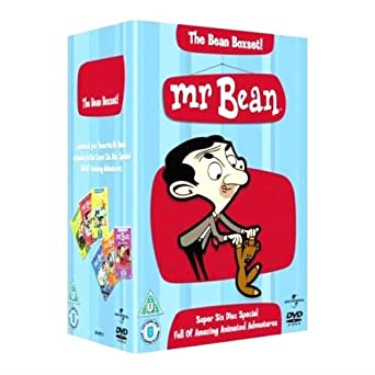 Mr Bean Complete Animated Series Dvd Collection 6 Discs Box Set