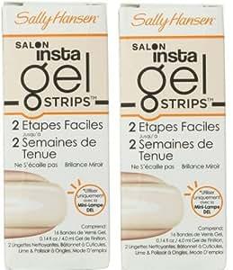 amazon   sally hansen salon insta gel strips sheer