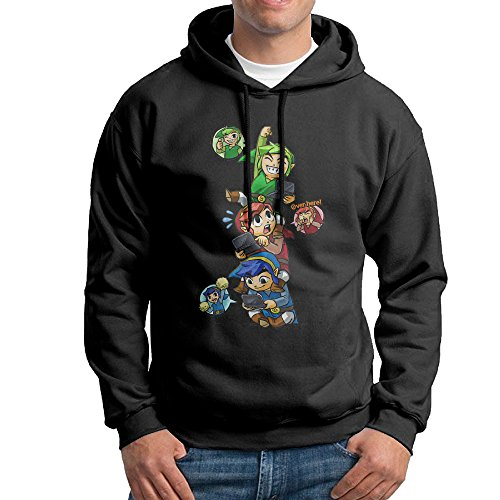 the-legend-of-zelda-2-mens-cool-hooded-sweatshirt