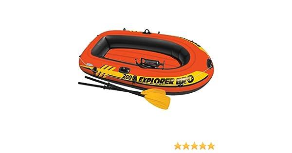 Festnight Barca Hinchable con Remos e Hinchador Capacidad Máx de ...