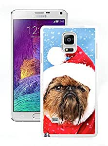 Hot Sell Christmas Dog White Samsung Galaxy Note 4 Case 13
