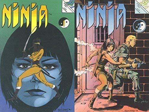 Ninja #1-2 (1986-1988) Limited Series Eternity Comics - 2 Comics