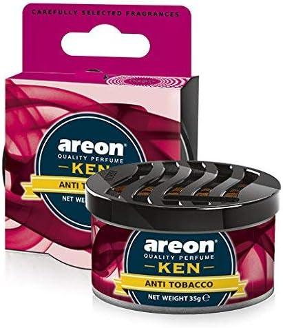 Amazon.es: AREON Ken Ambientador Coche Aire Antitabaco Lata Debajo ...