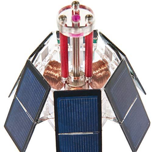Sunnytech Solar Mendocino Motor Magnetic Levitating Educational Model Vertical Stand QZ05 by Sunnytech (Image #1)
