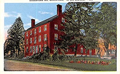 Shaker town Inn Shakertown, Kentucky USA KY Shaker Postcard