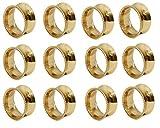 144 pcs NAPKIN RING - GOLD - Ima Brass