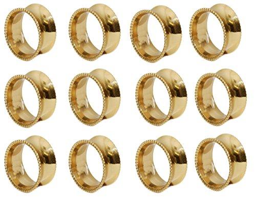 144 pcs NAPKIN RING - GOLD - Ima Brass by IMA BRASS (Image #2)