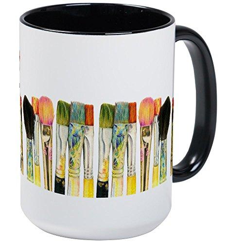 CafePress - ACEO Art Large Mug - Coffee Mug, Large 15 oz. White Coffee Cup