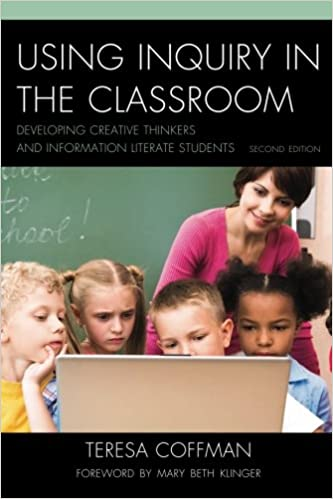 Book cover, Using Inquiry in the Classroom