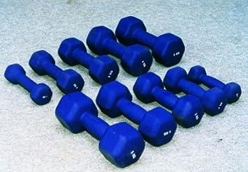 bodybild hexagonal - Mancuernas de neopreno (7 kg: Amazon.es: Deportes y aire libre