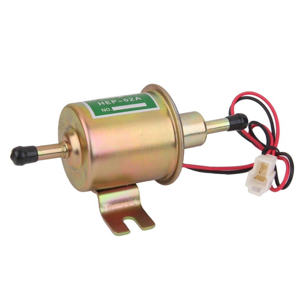 Generic Nuova Linea Diesel Gas A Bassa Pressione Del Carburante Elettrica Pompa 12v Hep02a HEP-02A