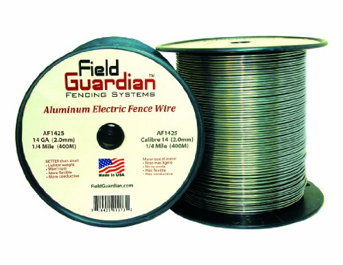 Field Guardian 14-Guage Aluminum Wire, 1/4 Miles]()