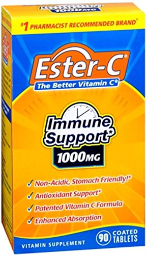 Ester-C 1000 mg Tablets 90 Tablets (Pack of 12) by Ester-C