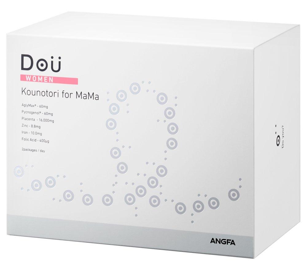 アンファー (ANGFA) Dou コウノトリ for ママ 60包 女性用 妊活サプリメント B07515B34S