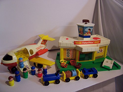 Vintage Fisher-Price Play Family Jetport #2502 ()