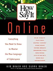 How To Say It Online by Sunny Baker (2000-05-01)