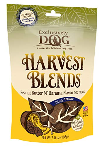 (Exclusively Pet Harvest Blends Peanut Butter N Banana Flavored Treats,)