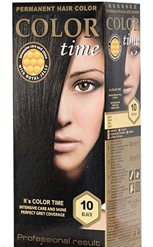 Color time, tinte permanente para el cabello de color castaño 25