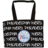 NBA Philadelphia 76ers Robin Ruth Ladies Medium Tote Bag - Black