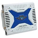 Pyle PLMRA420 4-Channel 1000W Waterproof Marine Bridgeable MOSFET Amplifier