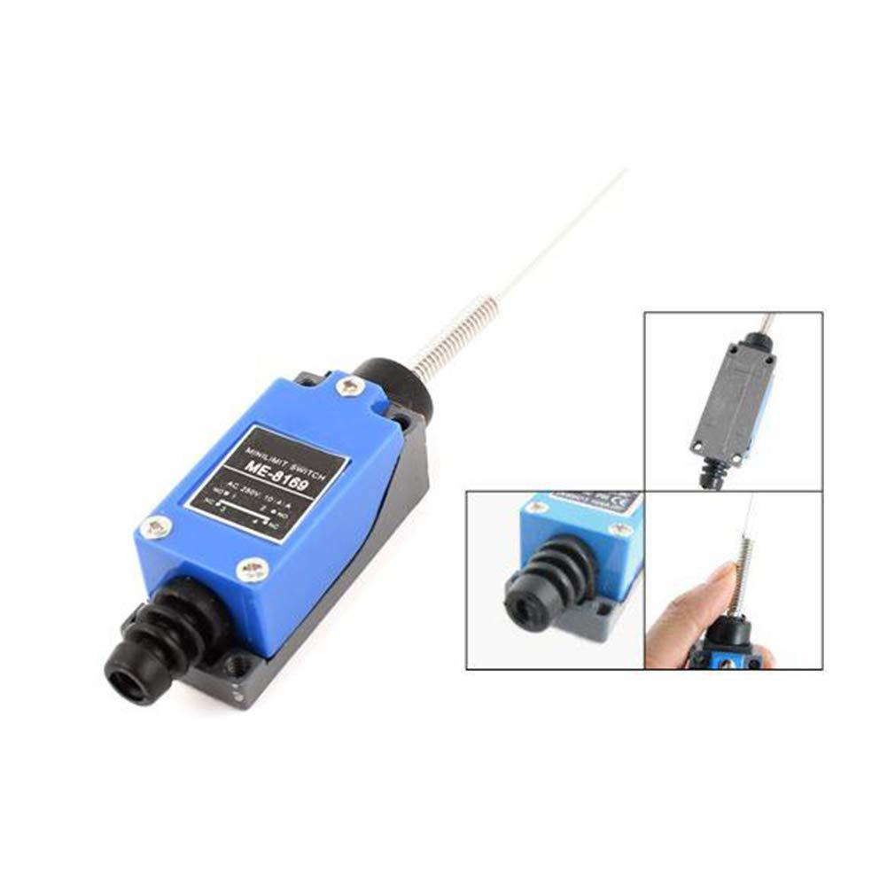 Newin Star DIY ME-8169 Electrical Wobble Palo profesional rodillo ajustable nivel del brazo moment/ánea mini interruptor de l/ímite para el molino del CNC Plasma
