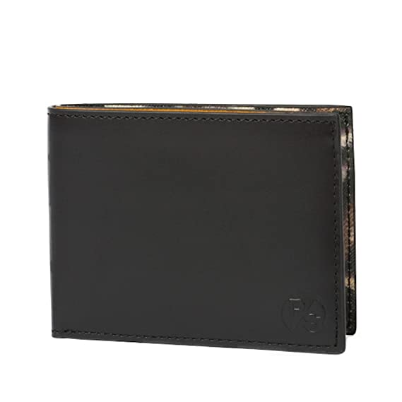 4d1480d8c415 Paul Smith Tiger Print Interior Billfold Black Leather Wallet -  ARXD-4879-W796-B: Amazon.co.uk: Clothing