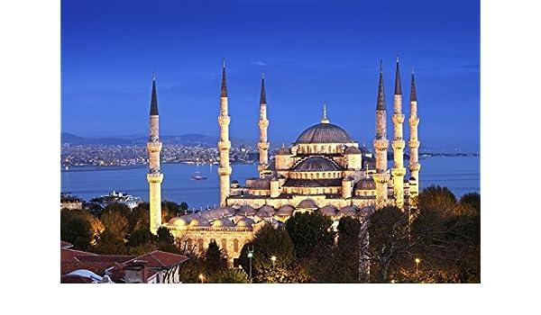 Azul Mezquita Estambul Turquía turismo Memorial imanes de nevera ...