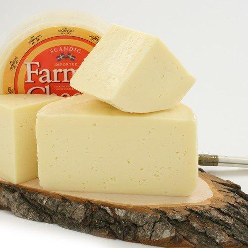 Hushallsost (Swedish Farmer's Cheese) - Whole Wheel (2 pound)