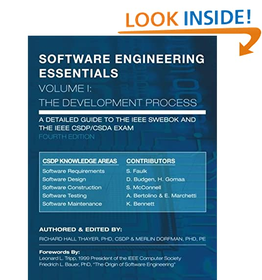 SOFTWARE ENGINEERING ESSENTIALS, Volume I: The Development Process (Volume  1)