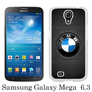 Samsung Galaxy Mega 6.3 I9205 Case ,Hot Sale And Popular Designed Samsung Galaxy Mega 6.3 I9205 Case With BMW 10 White Hight Quality Cover