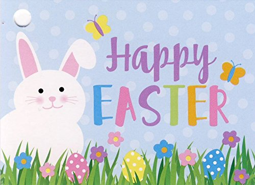 Happy Easter Bunny Gift Card Tags - 1 dozen (12)