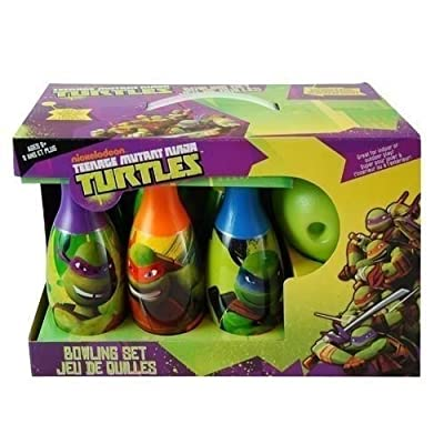 Teenage Mutant Ninja Turtle Toy Bowling Gifts Set: Toys & Games