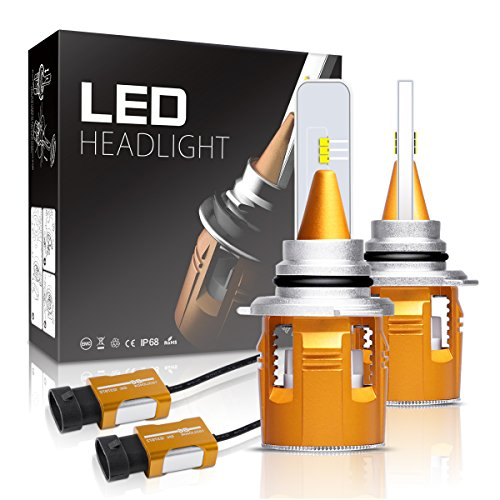 Ls400 Shock 2000 Lexus (9005 LED Headlight Bulbs Autofeel 7200LM Super Bright Car Exterior White Light Built-in Driver Lamp All-in-One Conversion Bulb Kit with Cool White Lights - 1 Year Warranty)