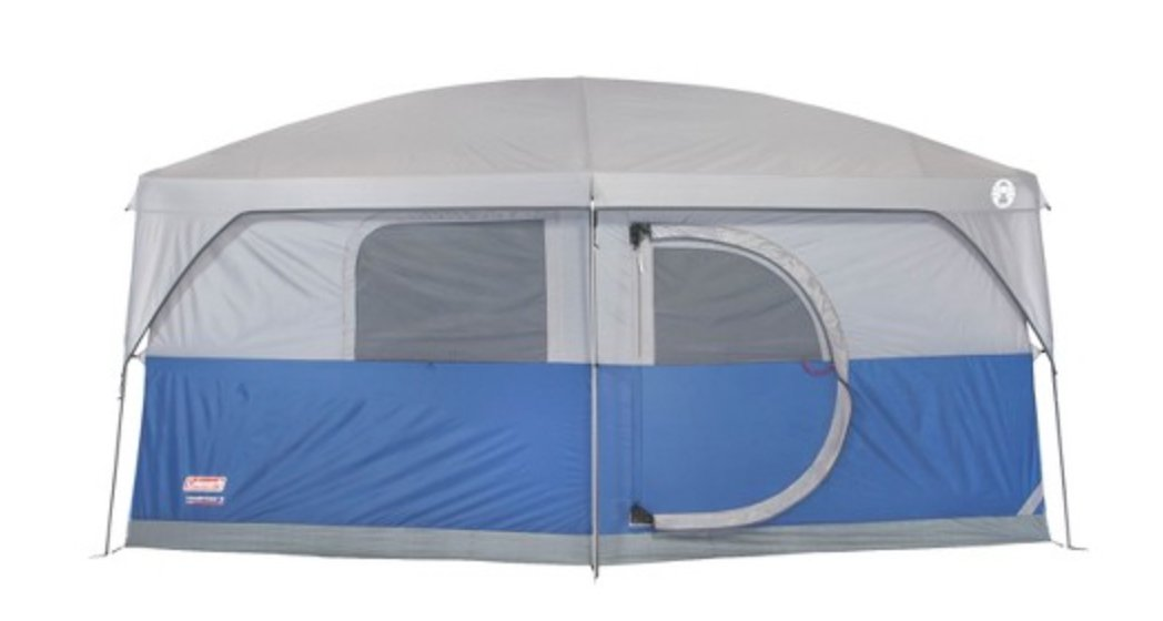 Amazon.com Coleman H&ton Family Cabin 2-Room Tent (9-Person) Sports u0026 Outdoors  sc 1 st  Amazon.com & Amazon.com: Coleman Hampton Family Cabin 2-Room Tent (9-Person ...