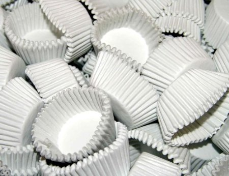 UPC 786173002095, #5 White Glassine Paper Candy Cup Cups 200 Count by CybrTrayd