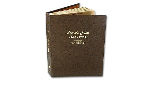 Dansco Coin Album 7107 Cents Blank 144 Ports