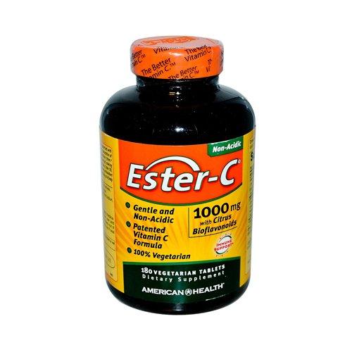 Ester C 1000mg w/ Citrus Bioflavanoids 180 Tabs ( Multi-Pack)