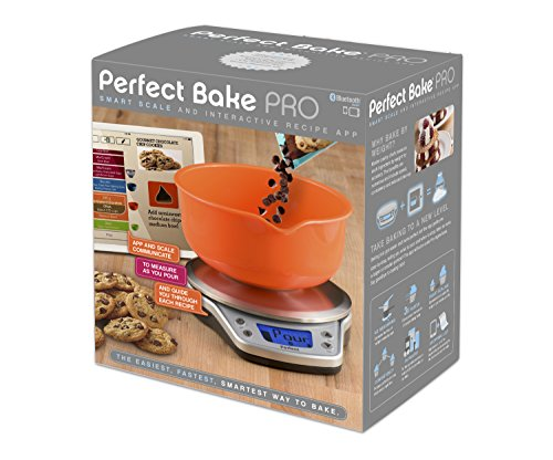 Wireless perfect bake pro smart kitchen scale and recipe for Kitchen pro smart scale
