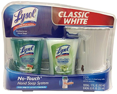 Lysol Classic White No Touch System