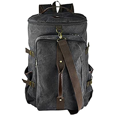 3-in-1 Duffel Bag | Canvas Backpack | 40L Multi-Use Weekend Bag | Luggage Carry-on