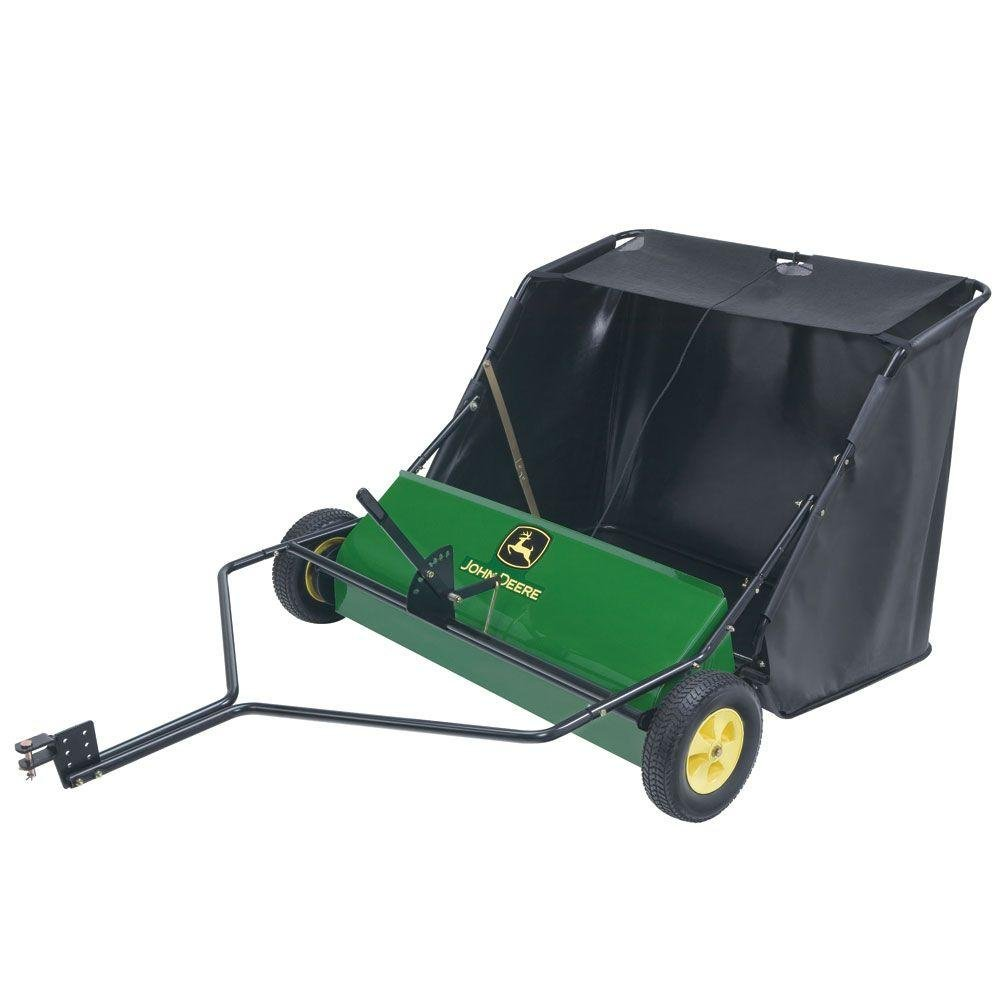 John Deere 42 in. 24 cu. ft. Tow-Behind Lawn Sweeper Image