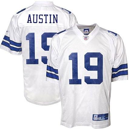 c880e4a1ba7 Amazon.com : Reebok Dallas Cowboys Miles Austin Replica White Jersey ...