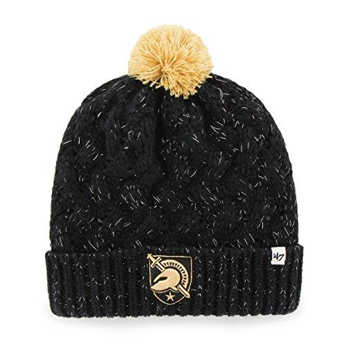 NCAA Army Black Knights Women's Fiona Cuff Knit Hat, One Size, Black