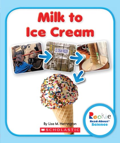 Milk Ice Cream (Milk to Ice Cream (Rookie Read-About Science))