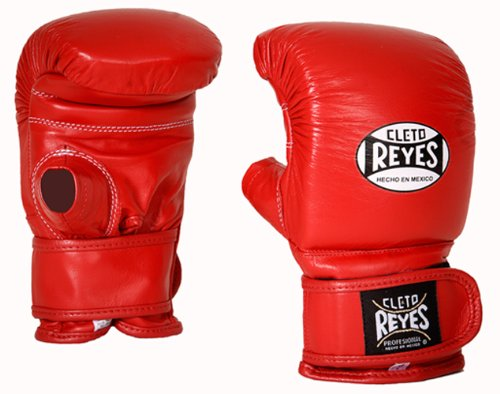 CleCleto Reyes Bag Glove with Velcro Closure - Red L