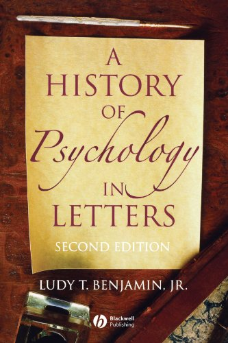 Prestige Collection Letter - A History of Psychology in Letters