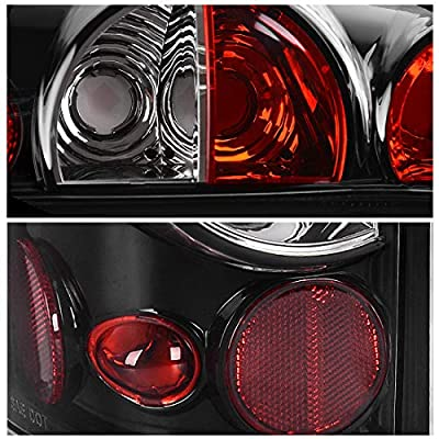DWVO Taillights Compatible Chevy Chevrolet Silverado 1500 2500 3500 1999-2006 & 2007 with Classic Body Style, Tail Lamps for GMC Sierra 1500 2500 3500 1999-2002 (Do Not Fit Barn Door/Stepside Models): Automotive