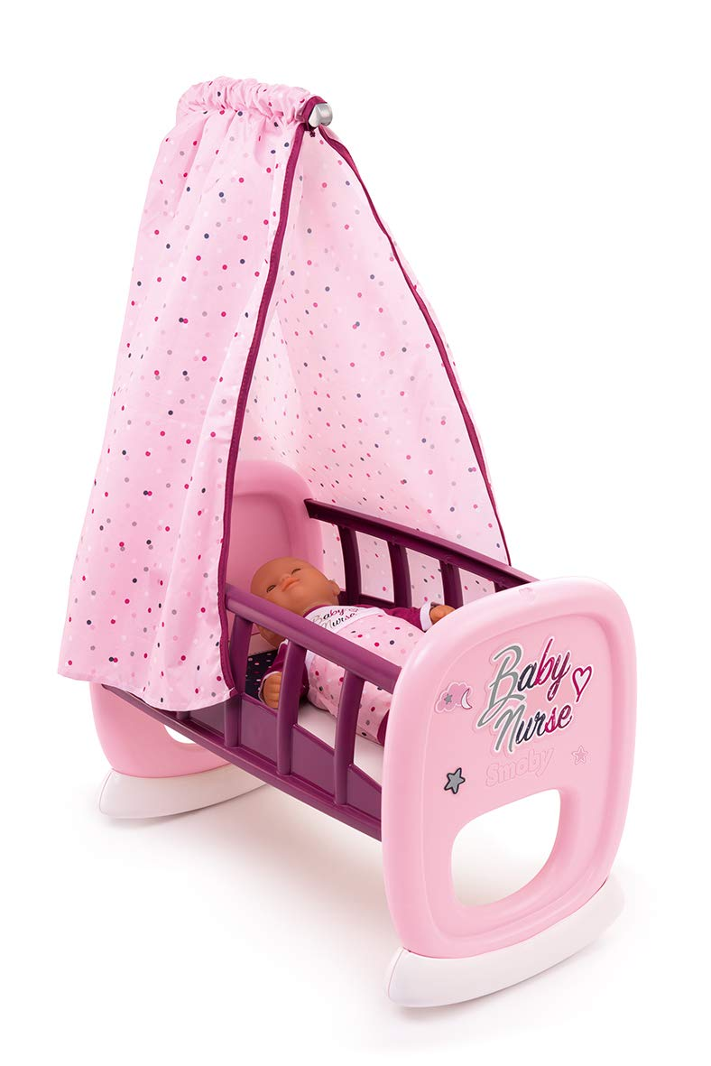 Smoby Baby Nurse 220338 Cradle (Pink) by Smoby